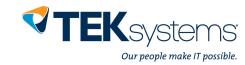 Teksystems Logo